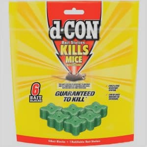 d-CON Rodenticide Rodent and Mouse Bait Station Corner Fit