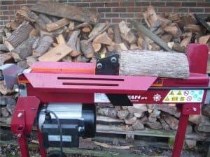 log splitter electric